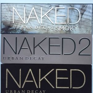 Urban Decay - NAKED, NAKED2, NAKED SMOKY Bundle